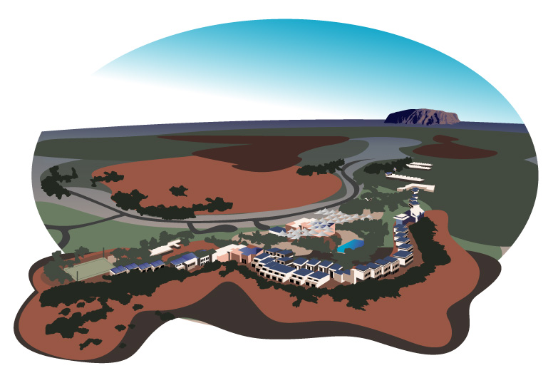 Uluru and Yulara resort nearby known as Ayers Rock resort also - did you know there is a airport just nearby called Ayers Rock Airport (IATA: AYQ, ICAO: YAYE) is situated near Yulara - actually the offical name is connellan airport (ayq)
