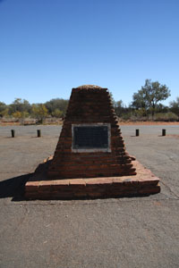 Sturt memorial Northern Territory